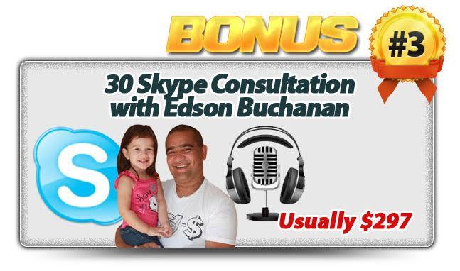 Skype Consultation with Edson Buchanan